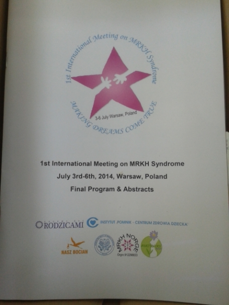 Our Program for the MRKH meeting in Poland