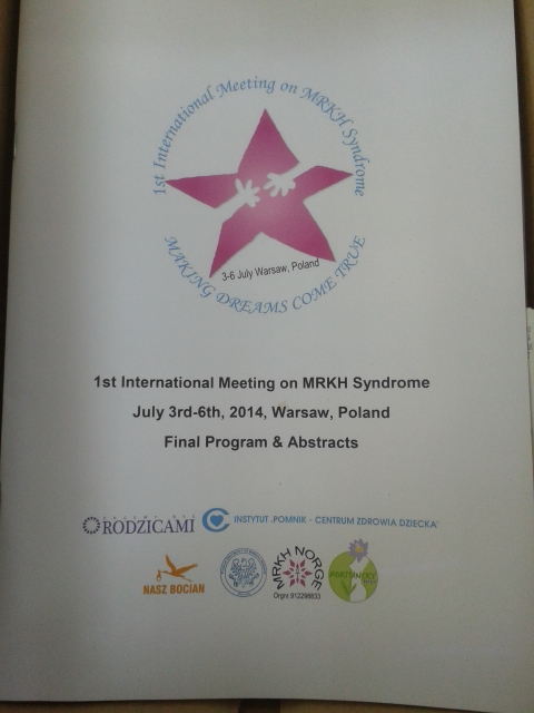 Our Program the MRKH meeting in Poland