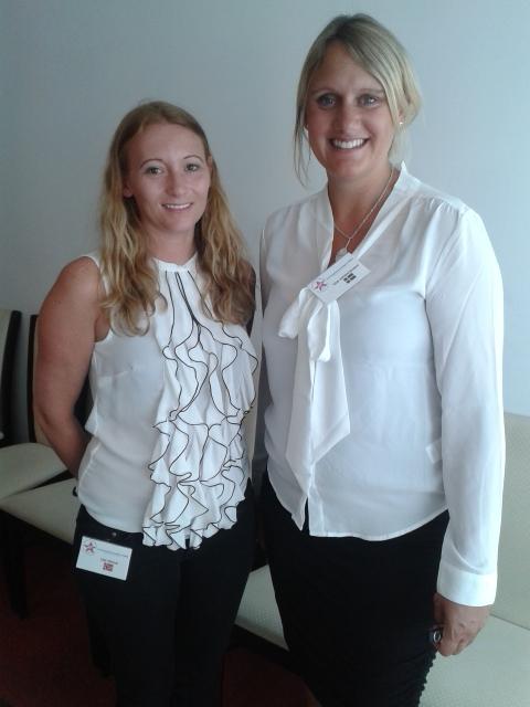 Lise Gimre and Liza Johannesson