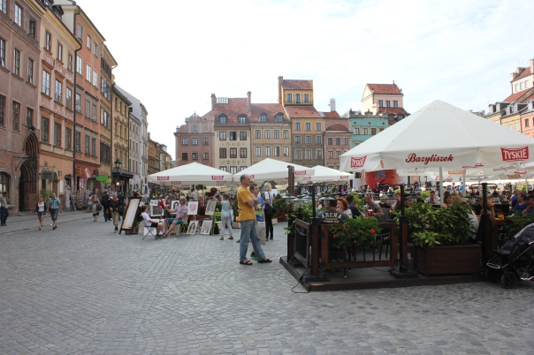 Old Town in Warsa