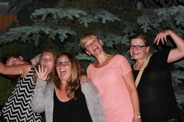 The crazy Norwegan girls !