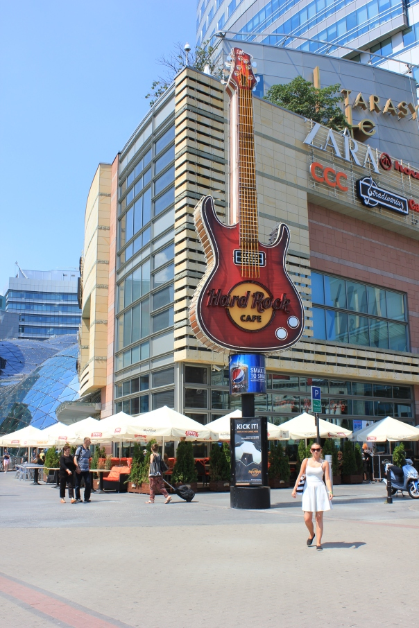 Hard Rock Cafe in Warsaw